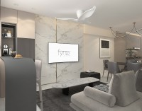 Modern Resale 5-Room HDB by Fyner Interior Pte Ltd
