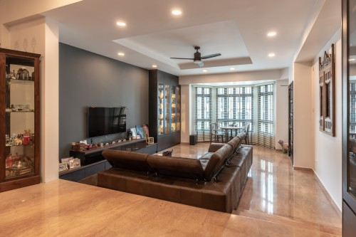 Asian New Condominium by NID Design Group Pte Ltd