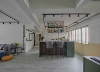 Eclectic Resale 5-Room HDB by The Interior Lab Pte Ltd