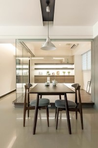 Contemporary New Executive HDB by TCA Think Tank Pte Ltd