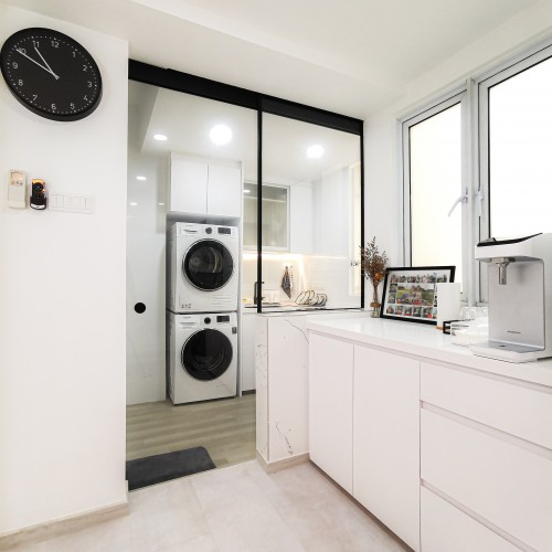 Contemporary Resale Condominium by Elysian Design & Renovation