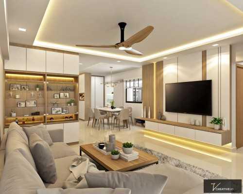 Scandinavian New 5-Room HDB by V Creative ID