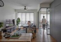 Contemporary New 3-Room HDB by The Interior Lab Pte Ltd
