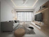 Contemporary New 5-Room HDB by Mr Designer Studio
