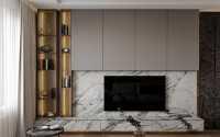 Contemporary Resale Condominium by 13 Degree Design Studio Pte Ltd