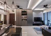 Modern Resale Condominium by MET Interior