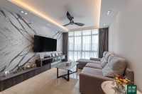 Scandinavian Resale Condominium by Noble Interior Design