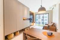 Contemporary New Condominium by Livspace