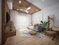 Asian Resale 5-Room HDB by Mr Designer Studio