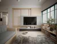 Minimalist Resale Condominium by Mr Designer Studio