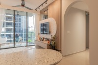 Eclectic New Condominium by Mr Designer Studio