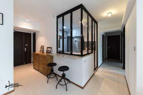 Modern Resale 4-Room HDB by Haus Werkz Interior
