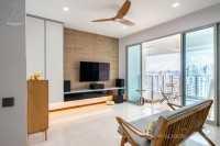Minimalist Resale Condominium by Design 4 Space Pte Ltd