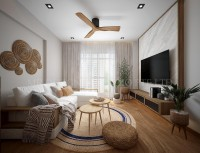 Scandinavian Resale 5-Room HDB by Mr Designer Studio