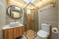 Scandinavian New 4-Room HDB by Dots 'N' Tots Interior Pte Ltd