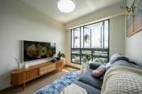 Scandinavian New 3-Room HDB by Dots 'N' Tots Interior Pte Ltd