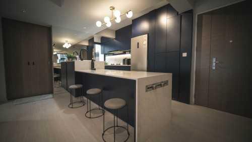 Scandinavian New 3-Room HDB by SG Interior KJ