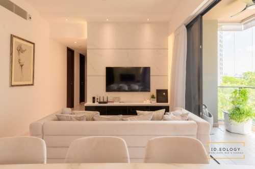 Contemporary New Condominium by Ideology Interior
