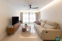 Modern New 4-Room HDB by Noble Interior Design
