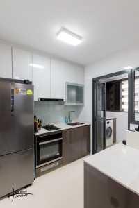 Modern New 3-Room HDB by Haus Werkz Interior