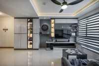 Contemporary New 4-Room HDB by Le Interi Design