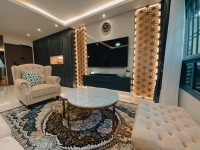 Modern New 5-Room HDB by Troy Design Pte Ltd