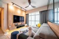Scandinavian New 5-Room HDB by Design 4 Space Pte Ltd