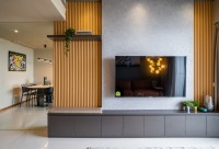 Modern Resale Condominium by Livspace