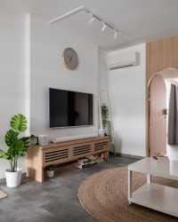 Minimalist New 3-Room HDB by Dots 'N' Tots Interior Pte Ltd