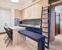 Scandinavian Resale Condominium by Dots 'N' Tots Interior Pte Ltd