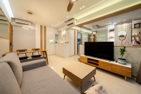 Scandinavian New Condominium by Design 4 Space Pte Ltd