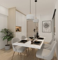 Scandinavian New 4-Room HDB by Mr Designer Studio
