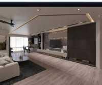 Modern Resale 5-Room HDB by Troy Design Pte Ltd