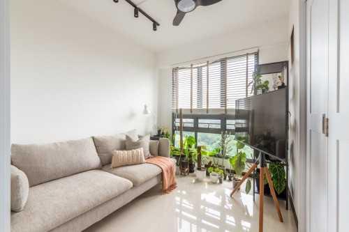 Minimalist New 4-Room HDB by Livspace