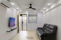 Minimalist Resale 3-Room HDB by The Creative Studioz