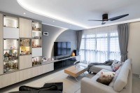 Contemporary Resale 4-Room HDB by Design 4 Space Pte Ltd