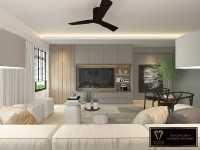Contemporary New 4-Room HDB by Mr Designer Studio