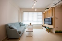 Modern New 3-Room HDB by In2Space Interior Pte Ltd