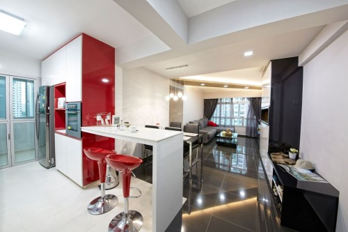 Modern Resale 4-Room HDB by Kejico Pte Ltd