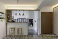 Scandinavian New 4-Room HDB by Starry Homestead Pte Ltd