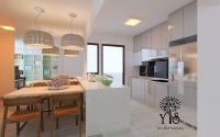 Contemporary New 4-Room HDB by YIS Living Pte Ltd