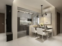 Industrial New 4-Room HDB by Nativ9 Design LLP
