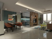 Modern New 5-Room HDB by 9 Degree Construction Pte Ltd