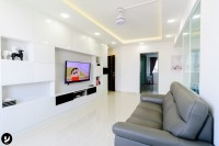 Contemporary New 4-Room HDB by Yang's Inspiration Design