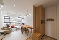 Contemporary Resale 4-Room HDB by Tan Studio