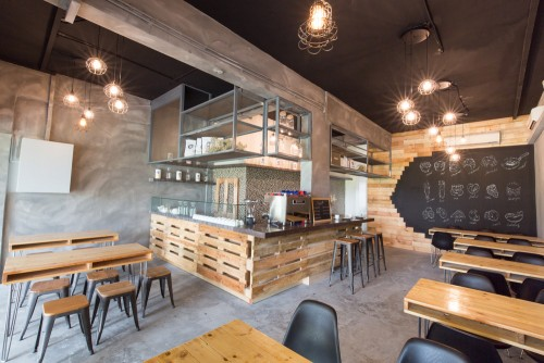Photo of Rustic Industrial @ Next Stop Cafe