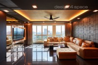 Contemporary New 5-Room HDB by Design 4 Space Pte Ltd