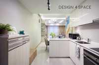 Modern New Condominium by Design 4 Space Pte Ltd