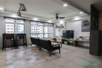 Industrial New 5-Room HDB by 9 Creation Pte Ltd