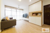 Minimalist Resale 4-Room HDB by Dreamcatcher Interior Design